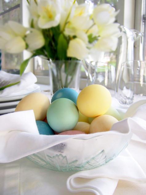 Velykų kiaušiniai natūraliai dažyti