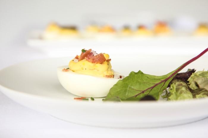 Įdaryti kiaušiniai - Velykų idėjos