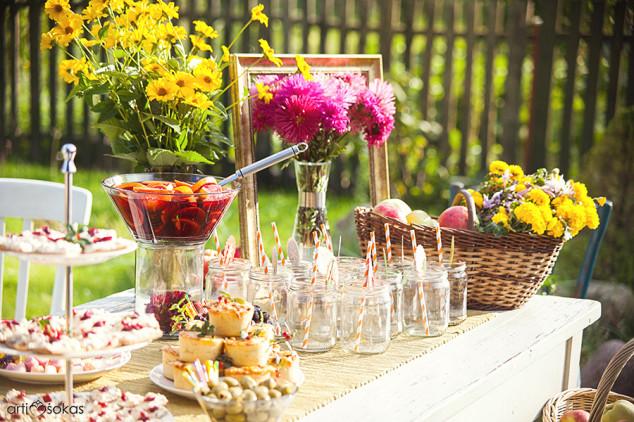 Mergvakario šventimas, stilingas dekoravimas