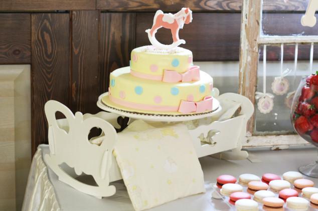 Tortas su arkliuku - krikštynoms ar gimtadieniui