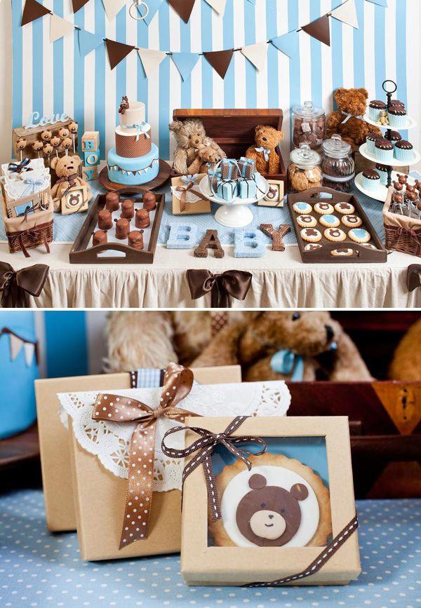 Mergaičių ir berniukų teminiai gimtadieniai - meškiukų tema