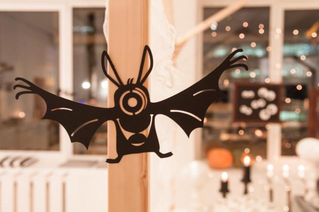 Helouvyno dekoracijos - karpyti šikšnosparniai