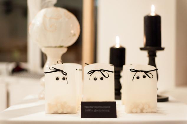 Dovanėlės lauktuvės svečiams - vaiduokliukai su akytėmis