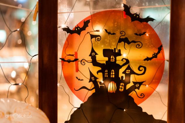 Halloweeno dekoracijos