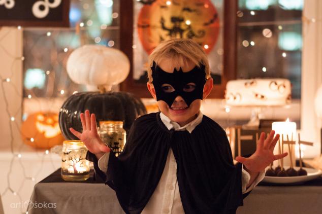 Helouvyno kostiumas berniukui