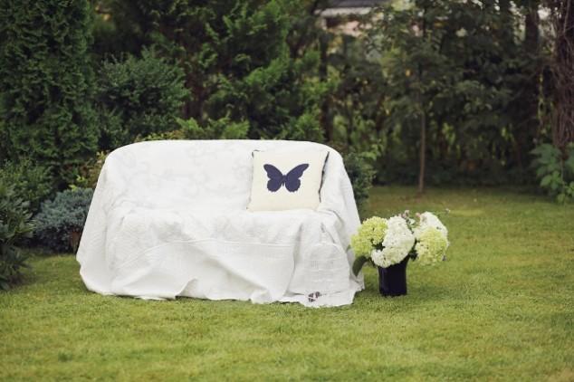 Krikštynų fotosesija gamtoje - drugelių tema
