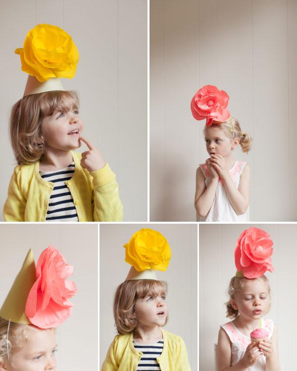 Gimtadienio kepurė su popierinegėle