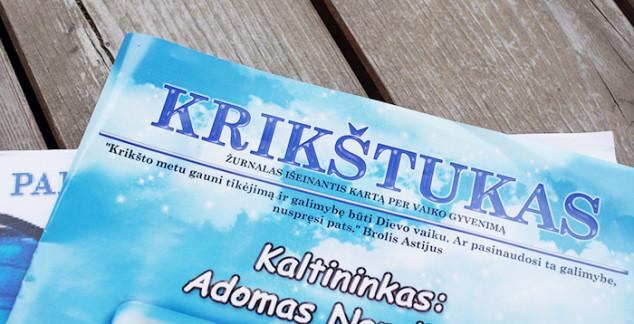 Krikštukas - žurnaliukas svečiams
