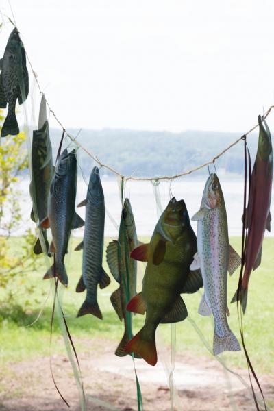 Teminis berniuko žvejybos gimtadienis