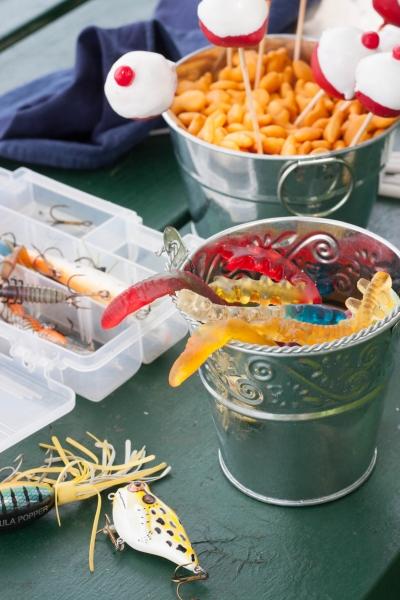 Idėjos berniukų gimtadieniams - žvejybos tema