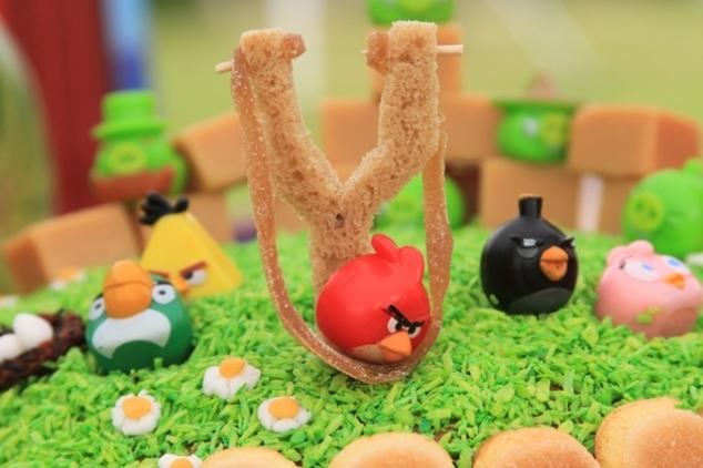 Angry Birds tortas