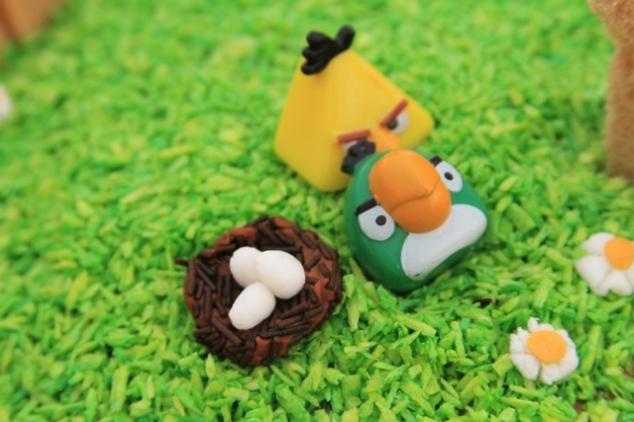 Angry Birds temos tortas