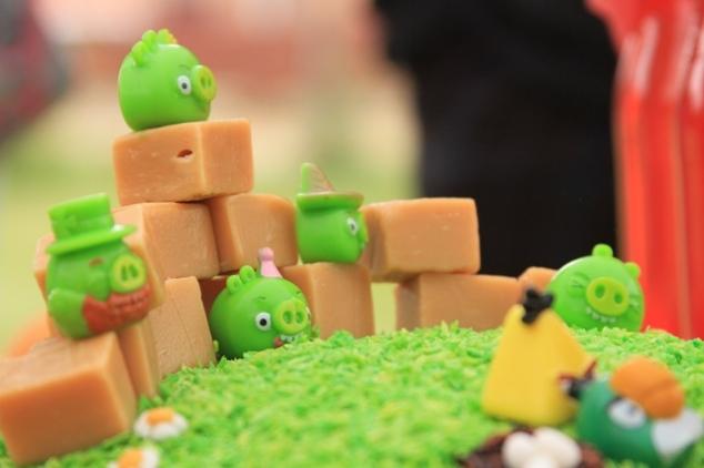 Angry birds tema berniuko gimtadienis