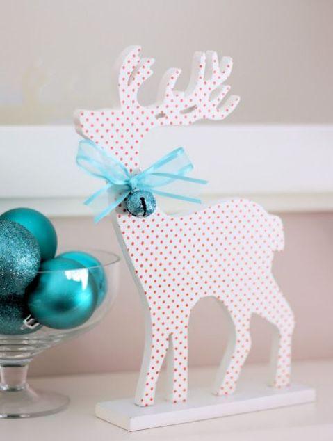 Kalėdų dekoracijos - elnias