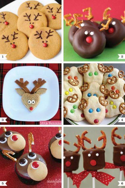 Kalėdiniai elnių sausainiai