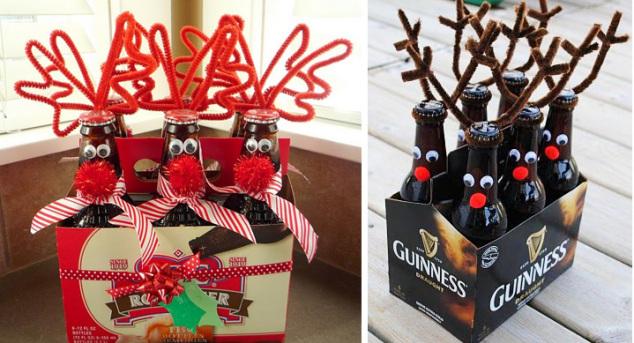 Kalėdų dovana jam - alus su elnio ragais