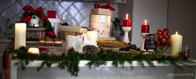 Kalėdų saldusis stalas ir jo dekoras