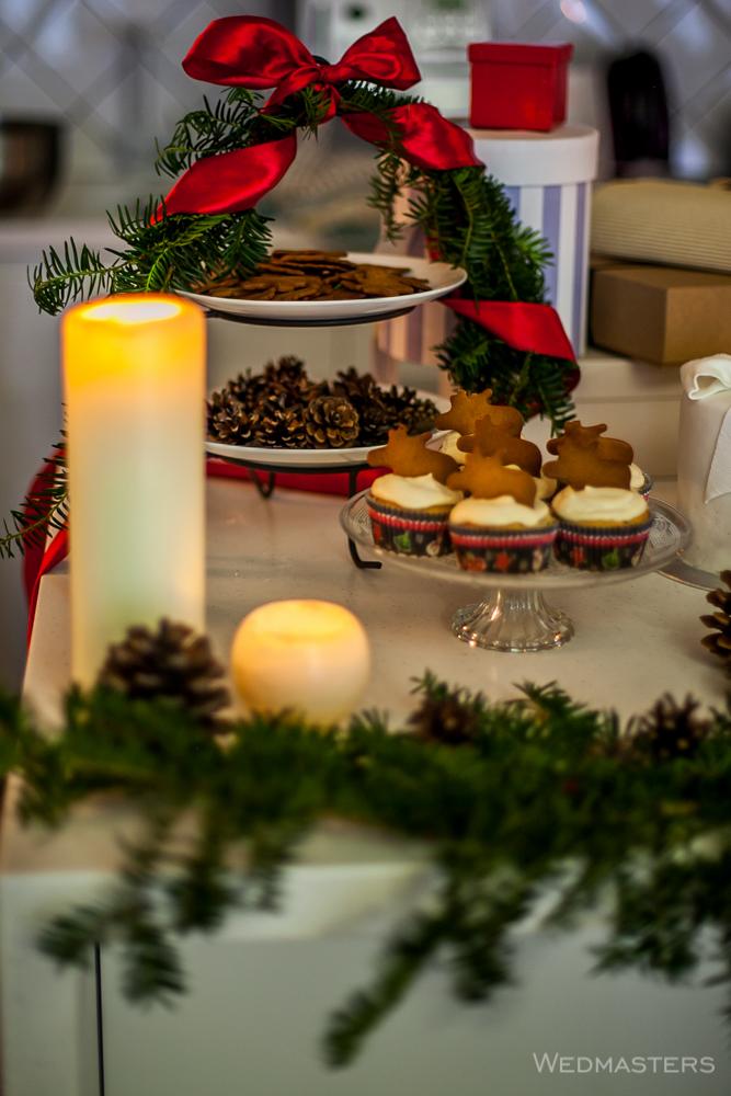 Kalėdų stalo puošimas
