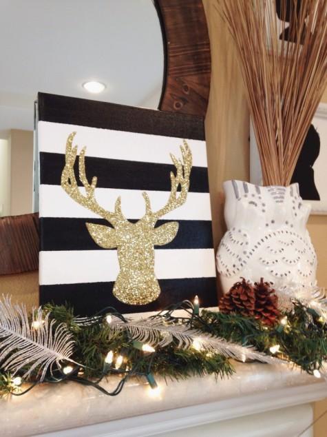 Kalėdų dekoracija - pasidaryk pats - pamokėlė