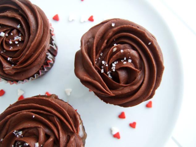 Valentino dienos šokoladiniai keksiukai