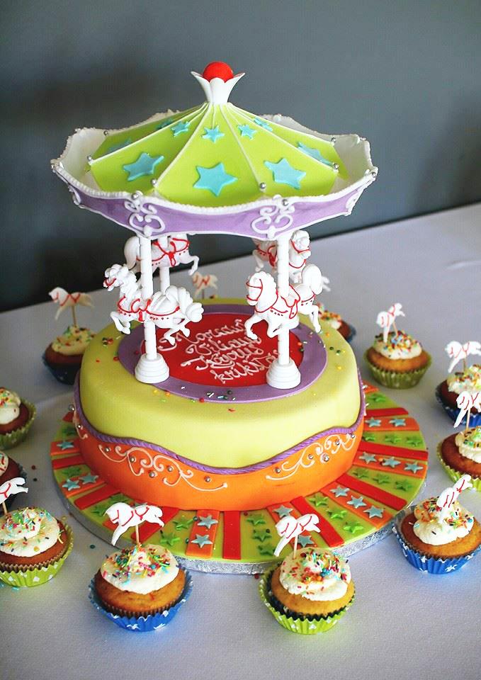 Tortas - karuselė