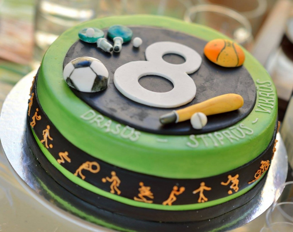 Futbolo gimtadienio tortas