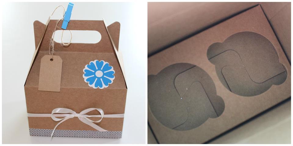 Keksiukų dėžutė - dovana svečiams