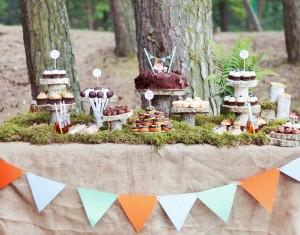 """Teminio gimtadienio idėja – """"Mažasis lapiukas ir miško draugai"""""""