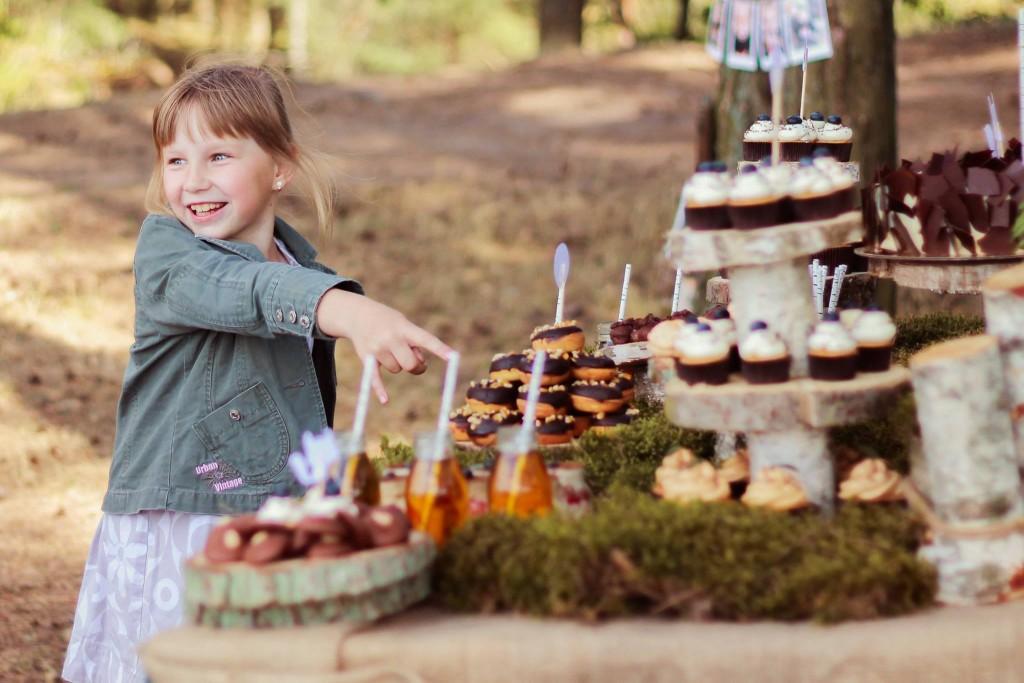 Gimtadienių idėjos: saldus stalas, dekoras