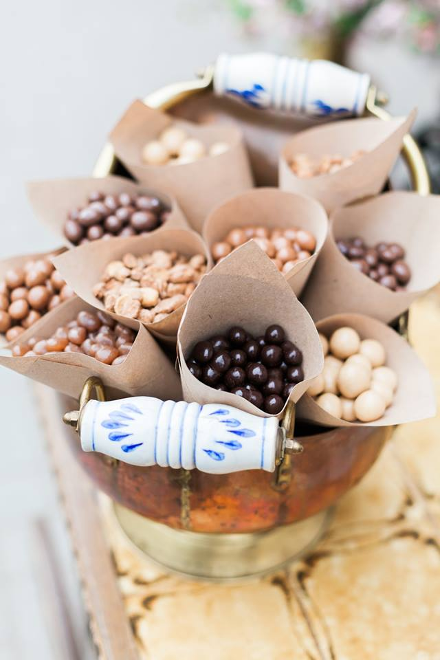 Šokoladinės vaišės vestuvėse