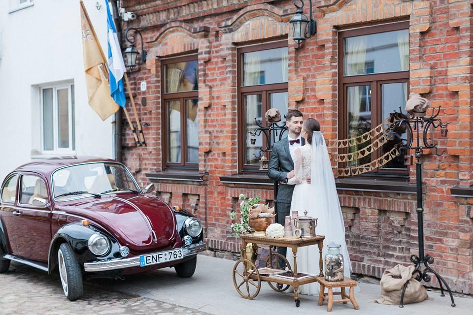 Šokoladinės vestuvės - fotosesija senamiestyje