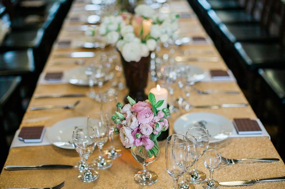 Stalų dekoras vestuvėse- viedrynai