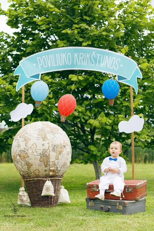 Krikštynų fotosesija - foto kampelis