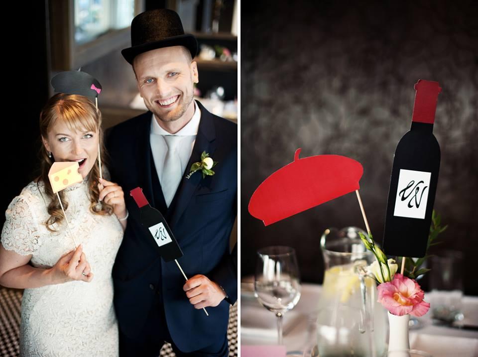 Prancūziškos teminės vestuvės
