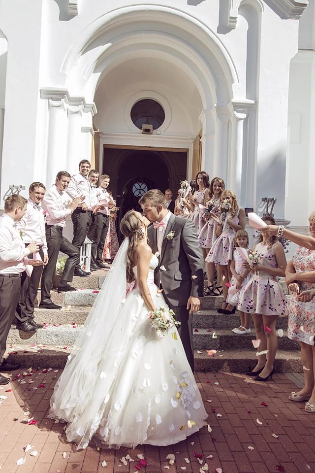 Žiedlapiai po ceremonijos