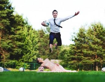 Fotosesija: meilės pakylėti arba žingsniu virš žemės