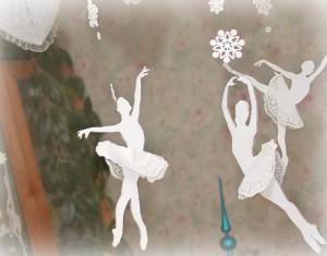 Baltas snaigių ir balerinų gimtadienis (1 metai)