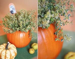 Rudens arba Helovino dekoracijos idėja