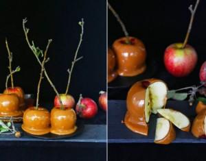 Obuoliai su karamele
