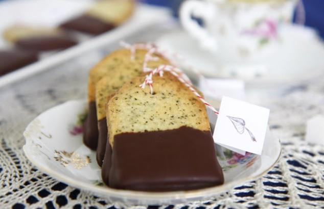 Sausainiai su Earl Grey arbata