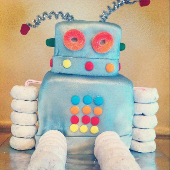 Gimtadienis robotų tema