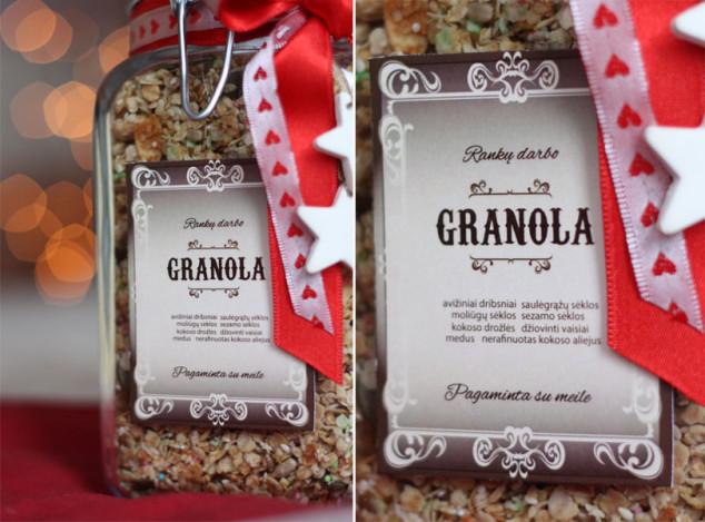 Granola - saldi dovana