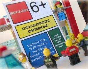 Lego gaisrininkų gimtadienis (6 metai)