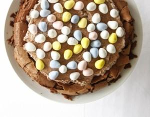 Šokoladinis pyragas Velykoms