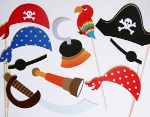 Foto rekvizitai – Piratai
