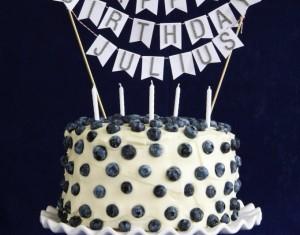Mėlynių ir imbiero tortas