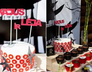 Japoniško stiliaus nindzių ir Hello Kitty gimtadienis
