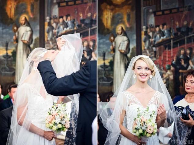 Vestuvių ceremonija bažnyčioje