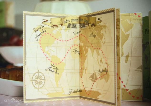 Vaikų teminiai gimtadieniai - kelionė aplink pasaulį