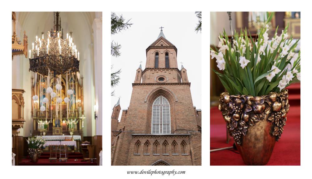 Vestuvės Birštono bažnyčioje